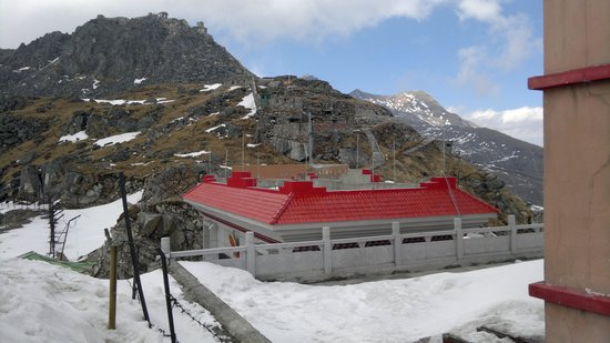 Nathula Pass: The Chinese side