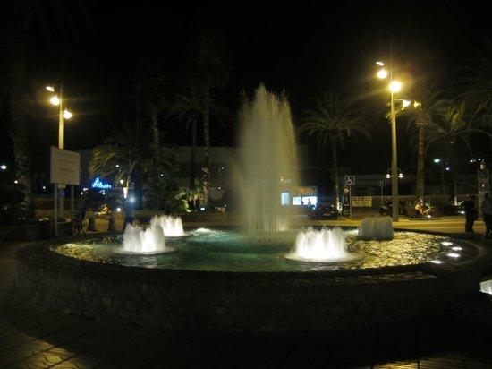 Illuminated Fountain: 2