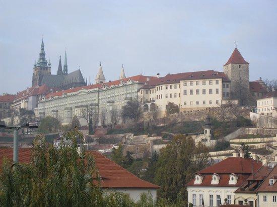 Klarov: View from bedroom window