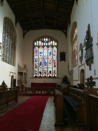 St. James' Church: the interior of the church