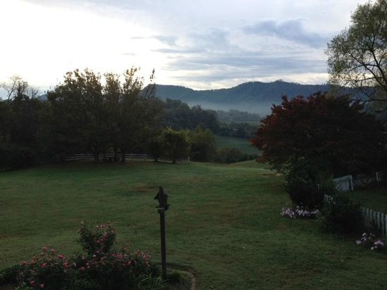 First Morning View Picture Of Blue Mountain Mist Country
