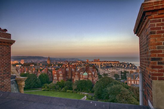 The Grand: view from penthouse roof terrace