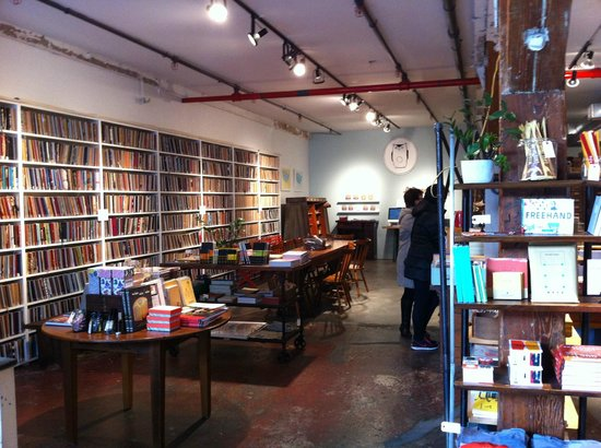 Made in Brooklyn Tours: Brooklyn Art Library - will you become an author too?