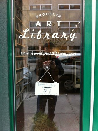 Made in Brooklyn Tours: Outside the Brooklyn Art Library