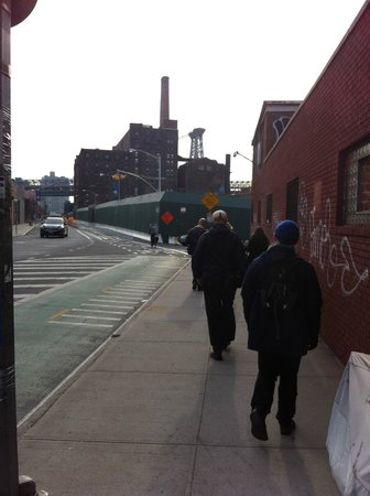 Made in Brooklyn Tours: Sugar factory - a key part of the Williamsburg story