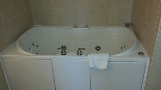 Hilton Garden Inn Albany / SUNY Area: LOVE The 2 Person Jetted Tub ! Very