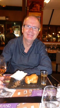 Le Grand Morien : You will not find a better Rum Baba anywhere!