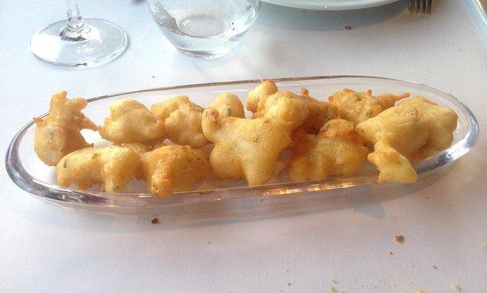 La Huertona: Buñuelos de bacalao