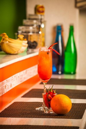 Ahoy! Asia: Spiced Sunrise Cocktail