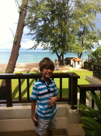 Dusit Thani Laguna Phuket: Villa Balcony
