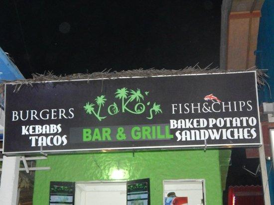 Koko's Beach Grill : KoKo's  Unawatuna, Sri Lanka