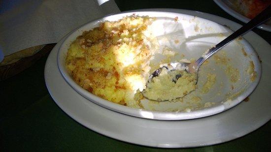 B&B Agriturismo Mammarella: soufflè di patate
