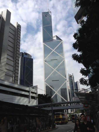 Bank of China Tower : Most unique building