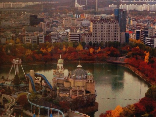 Lotte Hotel World: View from the hotel room
