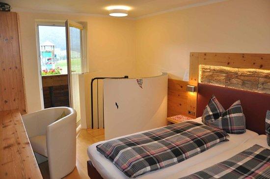 Ferienhaus Morgenfurt: Schlafzimmer Lavendel