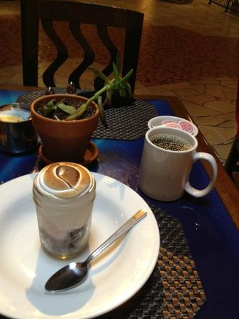 Mica: Dessert to Die for....Baked Alaska with Coffee