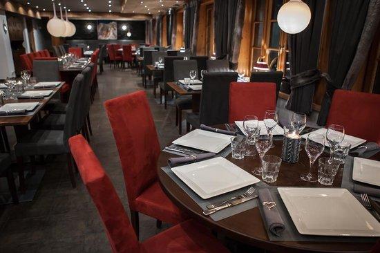 Hotel Bellevue: Restaurant rénové en 2013
