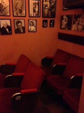 Hotel San Gabriel: internal cinema