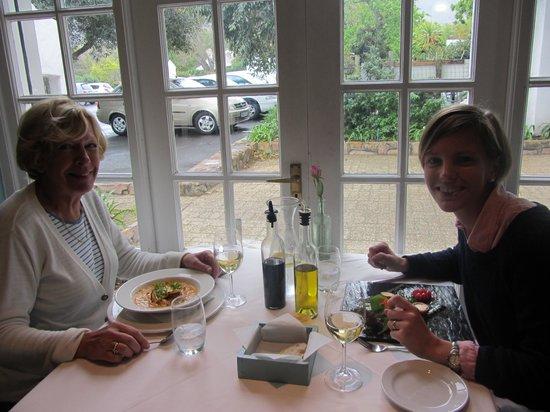 The Foodbarn Restaurant: Ann & me