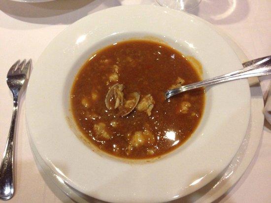 La Mar del Medio: Pocas veces he probado sopa de marisco  mejor que la de mi abuela... Esta le da 1000 vueltas ( e