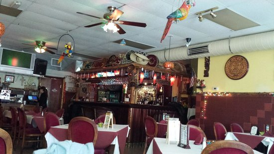 Rubens Mexican Cafe: Could use a bit of work, but a fun environment.