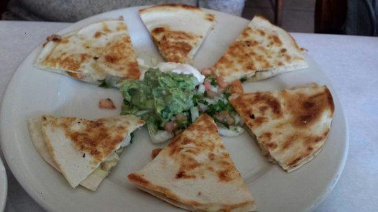 Rubens Mexican Cafe : main entree