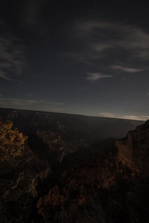 Great West Adventure: Grand Canyon Long exposure at night