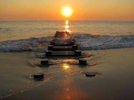 the dawn of a new day in rehoboth beach picture of delaware