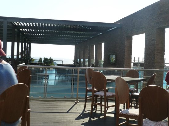 Michelangelo Resort and Spa: Outside dining at main restaurant