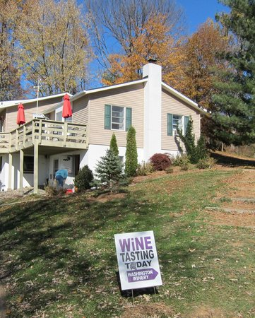 Little Washington Winery: Directions to wine tasting