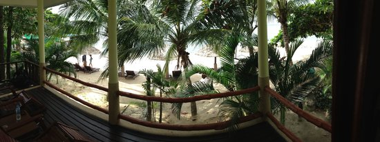 Loyfa Natural Resort: View from one of the beach front bungalows