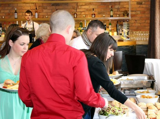 The Riverbank Bar & Kitchen: Plenty of food!