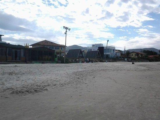 Barra da Lagoa Beach: Comercio farto!
