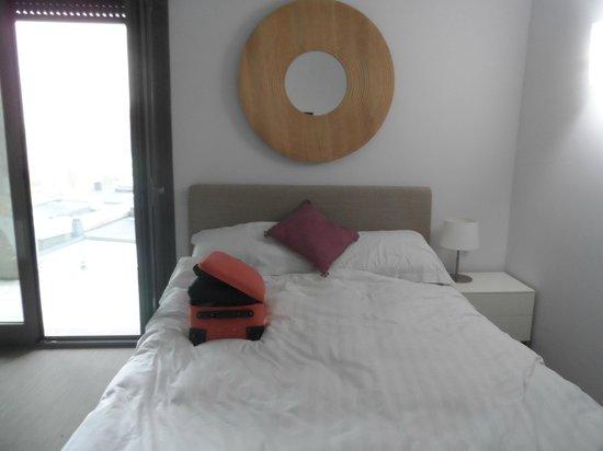 Zambala Luxury Residence: Comfy bed