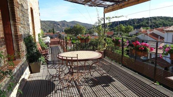 Las Tanes : Terraza