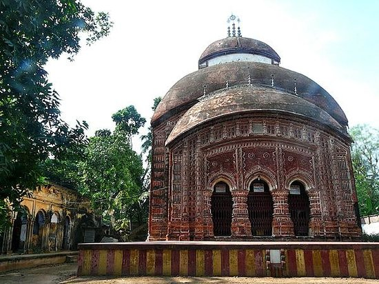 Hooghly, India: Terracotta Temple