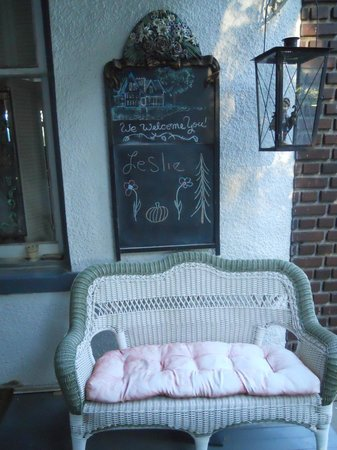 Tuck U Inn at Glick Mansion: A personal welcome at the door