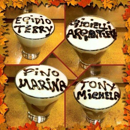 Gran Caffe Ciorfito : Cappuccini caldi per riscaldare l'autunno