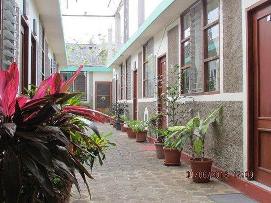 Hotel Los Cactus : Lobby - free wi-fi!