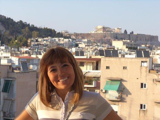 Ilissos Hotel: Vista do terraço do hotel