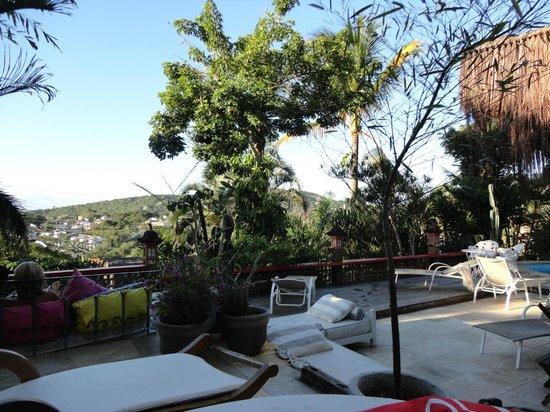 Aquabarra Boutique Hotel & Spa: área externa