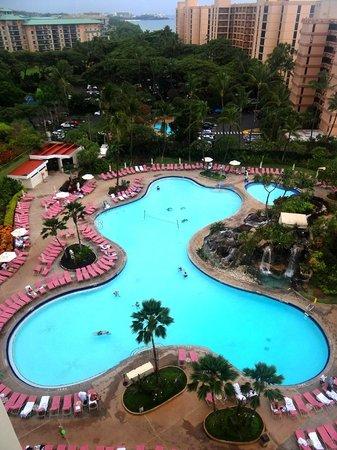 Ka'anapali Beach Club : Pool area