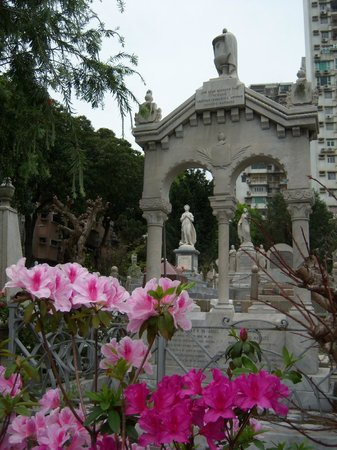St. Michaels Chapel and Cemetery : Cemetery in flowers