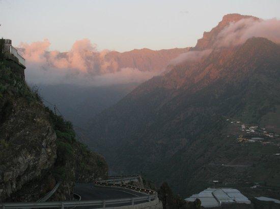 Mirador El Time: Vista de la caldera desde el Time