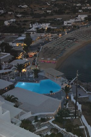 Ios Palace Hotel: panorama