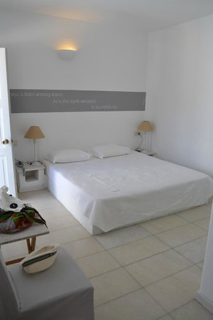 Ios Palace Hotel: letto