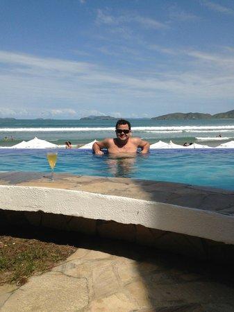Chez Pitu Praia Hotel: Sensação de borda infinita