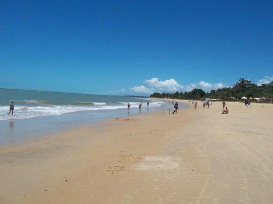 Tropical Oceano Praia: playa frente al hotel