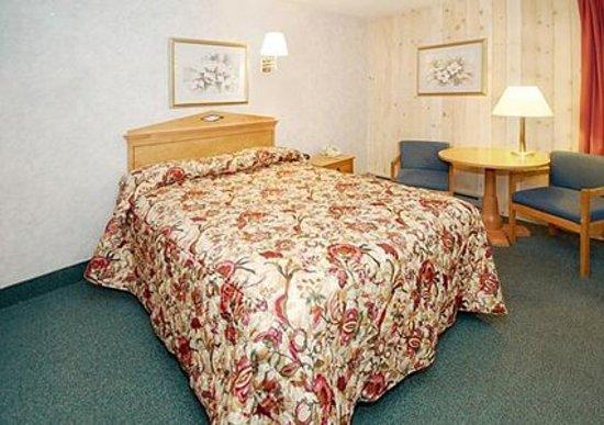 Econo Lodge Inn & Suites - Plattsburgh : Queen Size Bed
