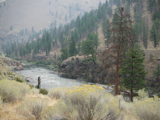 Idaho River Journeys: Hiked up to see spectacular view